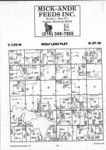 Fifth Principal T139N-R37W, Becker County 1992 Published by Farm and Home Publishers, LTD